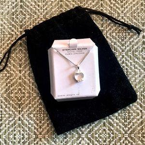 Sterling sliver heart necklace